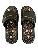28 CM Sandals Shoes Massage Massager Slippers Acupuncture Foot Care Reflex FT RF 09