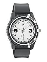 Fastrack Casual 3114PP01 White Analogue Watch - For Men