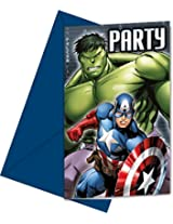 Avengers Multi Heroes-Invitations & Envelopes