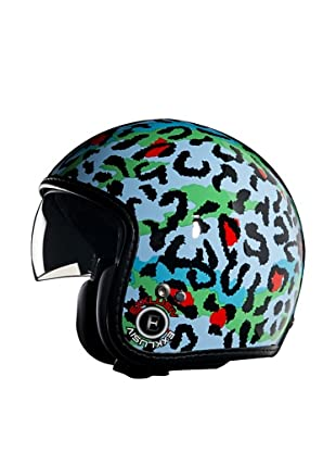 Exklusiv Helmets Casco Racer Guepard (Azul)