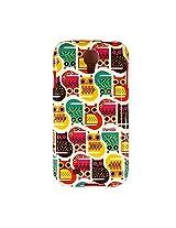 Chumbak Cats Case for Samsung Galaxy S4 (Multicolor)