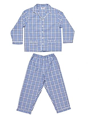 Allegrino Pigiama 100% Cotone Charly Boy (Blu)