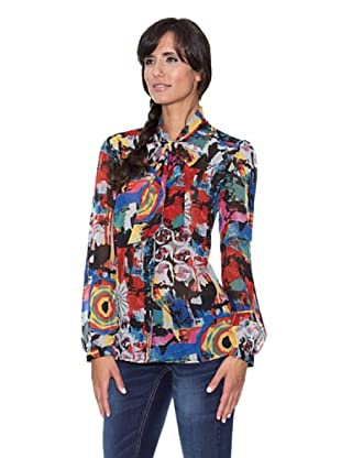Peace & Love Blusa Estampada multicolor (Multicolor)