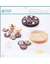 Martha Stewart Crafts Modern Festive Cake and Cupcake Stencils