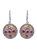 Gehna Jaipur Silver Dangle & Drop Earrings for Women (Multi-Colour)
