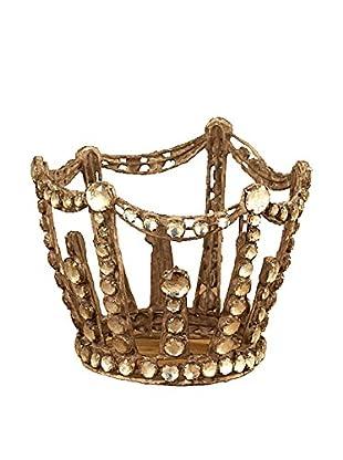 Sage & Co. Antique Jewel Crown Ornament