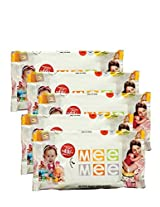 Mee Mee Caring Baby Wet Wipes with Aloe Vera (30pcs) (Pack of 5)