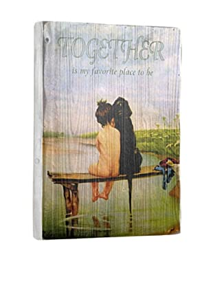 Artehouse Together Reclaimed Wood Sign