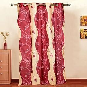 Mesmerize Red - Door Curtain