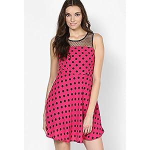 Miss Bennette Fuschia Skater Dress