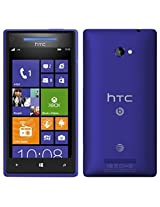 HTC 8X Windows 8 AT&T Phone (8GB) - Blue Color - UNLOCKED - NO CONTRACT - ONE YEAR US WARRANTY