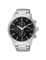 Citizen Chronograph Black Dial Men's Watch - CA0610-52E