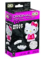 Original 3D Crystal Puzzle - Hello Kitty Lovely