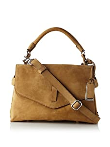 Gryson Women's Ruby Solid Belted Top Handle Messenger (Blonde)