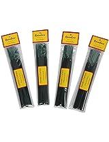 Auroshikha Coloured Rainbow Golden Champa Incense Sticks (264 gm, Brown) - Pack of 4