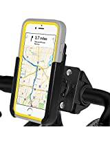 Amzer Crusta Bicycle Bike Handlebar Mount Holder for iPhone 6 Plus, iPhone 6s Plus - Retail Packaging - Bike Mount