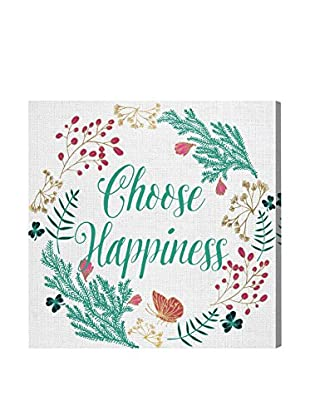Oliver Gal 'Always Be Happy' Canvas Art