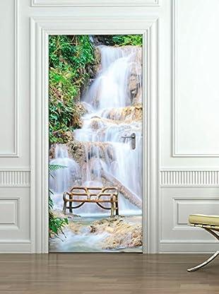 Ambiance Sticker Wandtattoo Door Waterfall