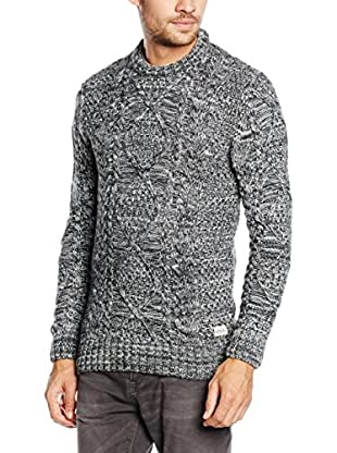 Superdry Pullover Black Blizzard Crew