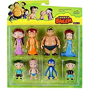 Chhota Bheem-8-in-1 Action Figure