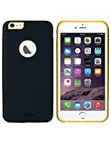 AirPlus AirCase 1mm Slim Case Leather Feel with Apple Cut Out for iPhone 6[NAVY BLUE]