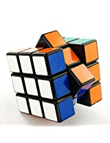 Shengshou 3x3x3 Puzzle Cube Black- Color and Design may vary