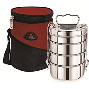 Hot Carrier 6x4 Tiffin Box