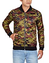 United Colors of Benetton Men's Synthetic Jacket (8903975037311_15A2FS1C7009I90146_small_Plum and Green Camo)