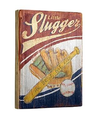 Artehouse Little Slugger Reclaimed Wood Sign
