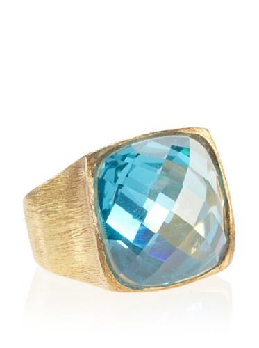 Wendy Mink Square Faceted Cocktail Ring