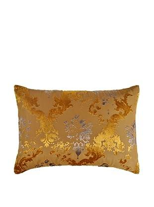 Kevin O'Brien Studio Hand-Printed Devore Velvet Vintage Wallpaper Pillow