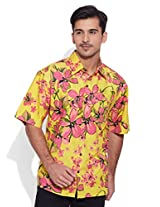 Very Me Beach Party Men's Cotton Printed Shirt (32)