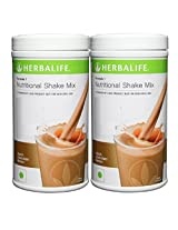 2x Herbalife Formula 1 Nutritional Shake Mix, 500g Dutch Chocolate