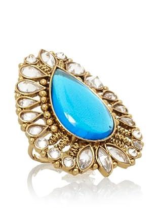 Rosena Sammi Gold Tear Drop Ring