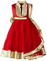 Kidology In-house Collection by Maya Nocon Girl's Anarkali Set