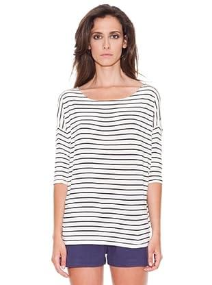 Women secret Camiseta Mc Repris Nautic (Marfil)