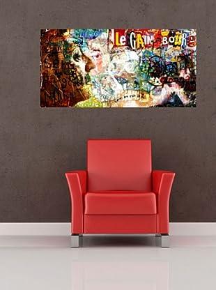 Vinilo Adhesivo artístico Gainsbourg Multicolores