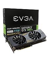 Evga Geforce Gtx 980 Ti Ftw Acx 2.0+ 6Gb Gddr5 384Bit Graphic Card 06G-P4-4996-Kr