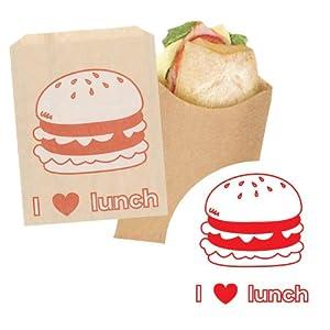 バッククラフト サンドイッチバッグ ハンバーガー