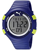 PUMA Unisex PU911281004 Faas 100 L light blue Digital Display Watch