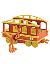 Dinosaur Train - Collectible Conductor With Train Car