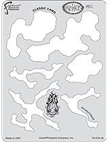 Artool Freehand Airbrush Templates, Classic Camo