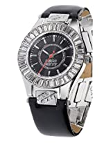 Miss Sixty Analog Black Dial Women's Watch - SCY002