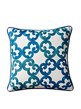 Happy Chic by Jonathan Adler Samantha Circles Pillow, Blue/White