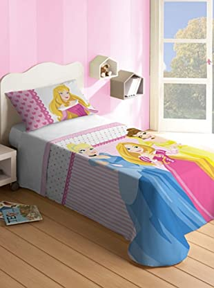 Disney Home Set Letto Principesse (Multicolore)