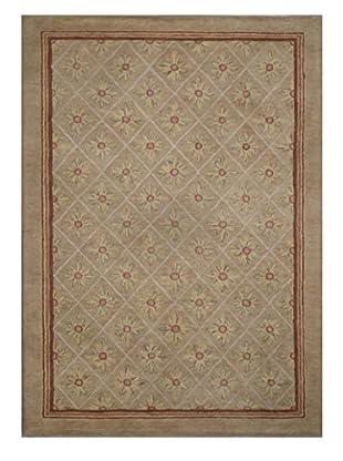 Mili Designs NYC Floral Tufted Modern Rug, 5' x 8'