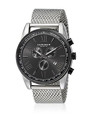 Akribos XXIV Uhr mit schweizer Mechanikuhrwerk Man metallic