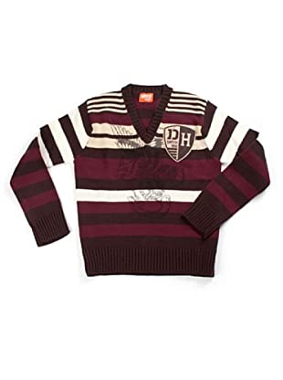 Datch Dudes Pullover (Bordeaux/Marrone)