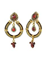 Aakshi Golden Metal Dangle & Drop Earring For Women