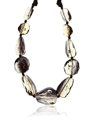 Silvio Tossi Collar - negro/oliva/ transparente